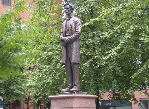 Abraham Lincoln statue, Manchester